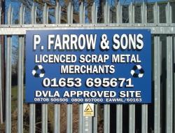 P Farrow & Sons